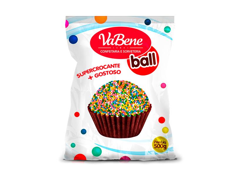 Confeito VaBene Micro Cereal Colorido 500g